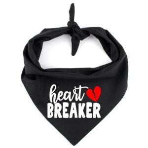bandana hond valentijn, valentiijn bandana, heart breaker bandana