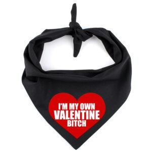 bandana hond valentijn