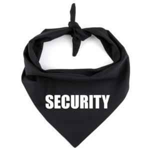 security bandana hond, hondenbandana, veilig