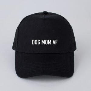 dog mom af, pet, zwart