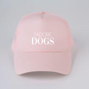pet, j'adore dogs, roze