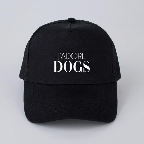 pet, j'adore dogs, zwart