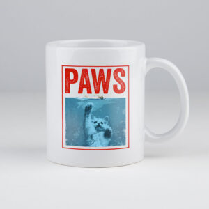 paws, cat lover, koffietas, koffiemok, koffie