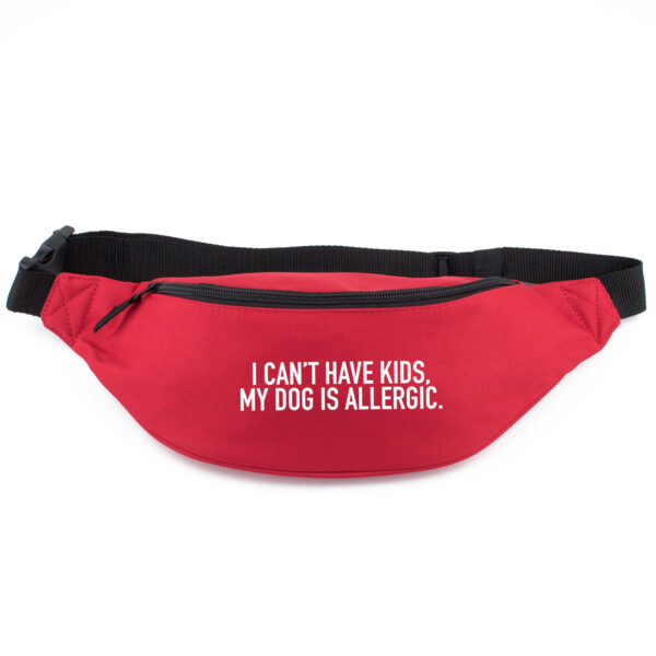 heuptasje, I can't have kids my dog is allergic