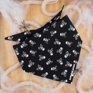 bandana, hond, doodskop, halloween