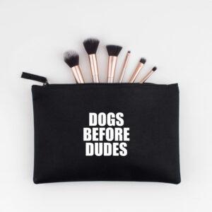 accessoire tasje, dogs before dudes