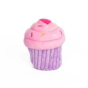 cupcake, roze, hondenspeelgoed