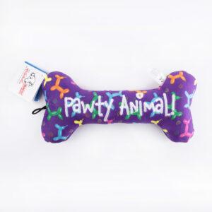 hondenspeelgoed, verjaardag, pawty animal, hond, speeltje, Huxley & Kent
