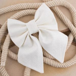 strikje hond, linnen, sailor bowtie, sailorbowtie, huwelijk