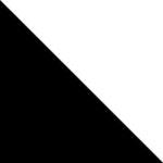Zwarte totebag + witte bedrukking