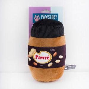 pawvé, hond, speelgoed, hondenspeeltje, pindakaas