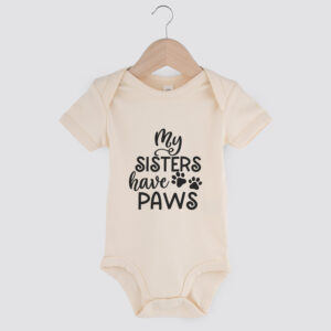 babyromper, my sisters have paws, dog mom, babyborrel, cadeau baby, hond
